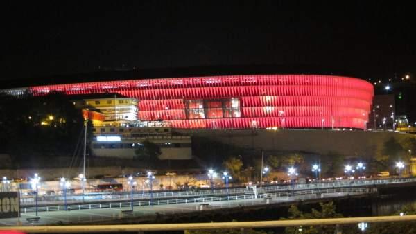 El estadio de San Mamés, que acogerá las finales de rugby