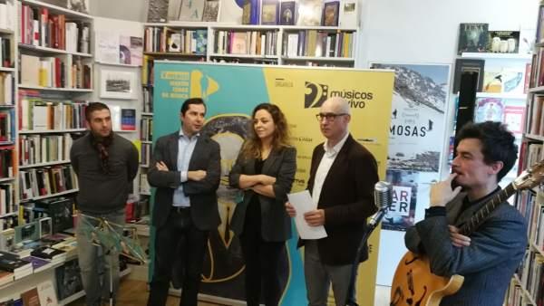 Presentación de los V Premios Martín Códax da Música