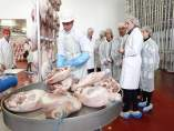 Jamones Albarracín finaliza la cuarta fase del secadero de jamones en Platea