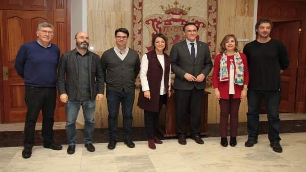El Ayuntamiento firma con la UCO la cesión de las 'Casas de Doña Ana Jacinta'