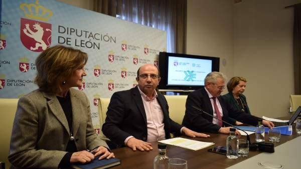 Presentación del balance de la Diputación de León.