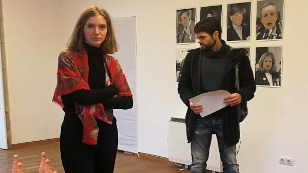 Presentación de la exposición 'Esa Muller', de Mar Ramón Soriano, en Santiago