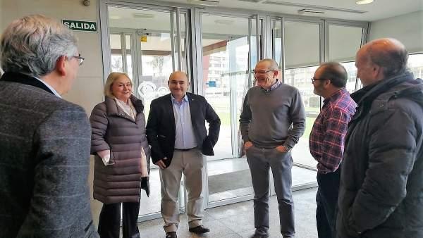 Visita del PP al IEO