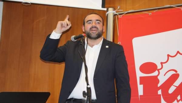 El candidato de IU a la Alcaldía de Granada, Francisco Puentedura