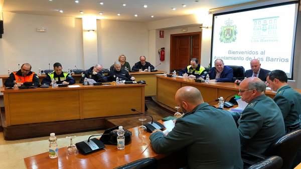 Junta local de seguridad en Los Barrios (Cádiz)