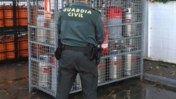 Un detenido por el robo de 48 bombonas en Cartaya (Huelva).