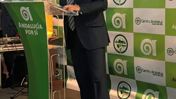 El alcalde de Coria, Modesto González