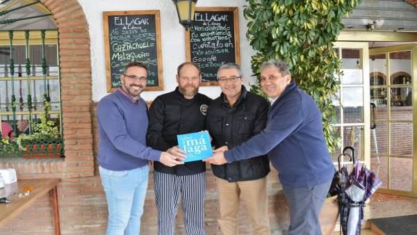 Placa Sabor a Málaga para 'La Chalaúsa' de Benagalbón