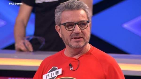 Valentín Ferrero, concursante de 'Boom'.