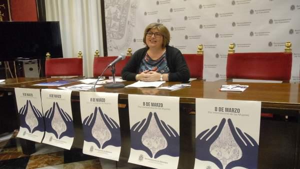 La concejal de Igualdad, Ana Muñoz