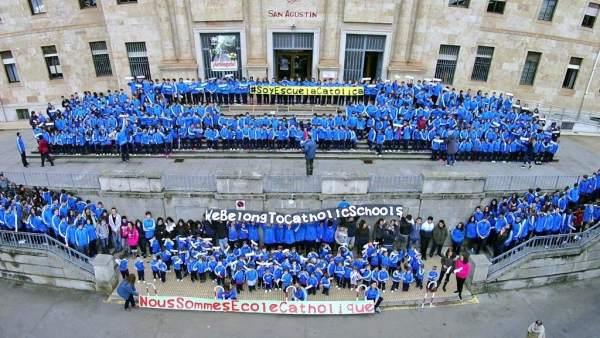 Valladolid.- Celebración del Día de Escuelas Católicas Castilla y León.