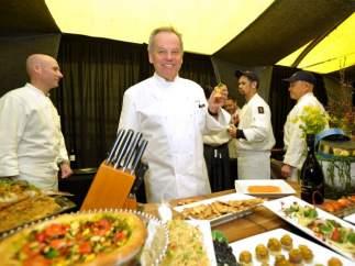 El chef Wolfgang Puck