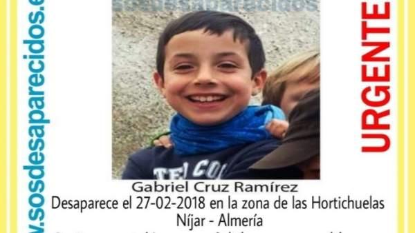 Menor desaparecido en Níjar