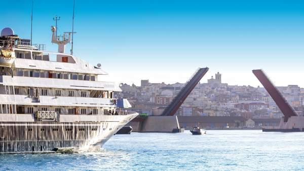 Crucero Puerto de Tarragona