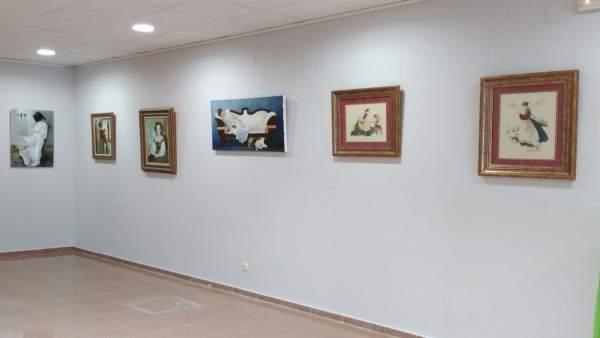 Exposición con obras de mujeres que se podrá visitar en Sádaba