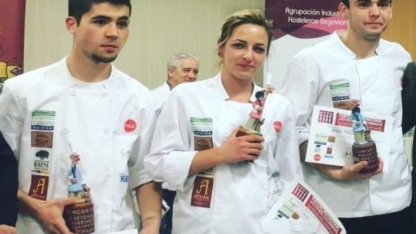La cocinera ganadora