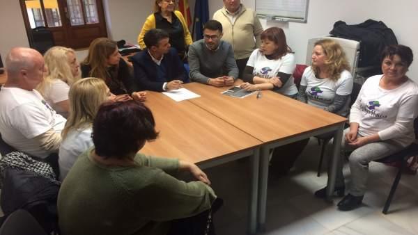 Reunión PSOe camareras de piso en marbella