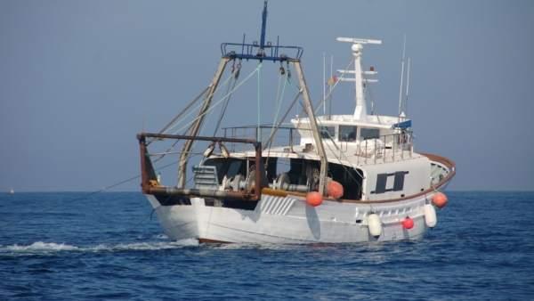 Barco, pesca de arrastre