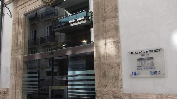 Sede De La Bolsa De Valencia, En La Calle Libreros.