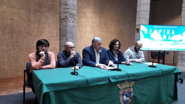 Joseba Asiron, alcalde de Pamplona con el cuatripartito.