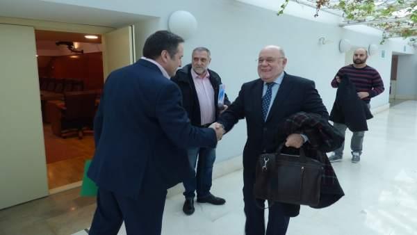 Reunión Gobierno, PRC, PSOE y Carrancio