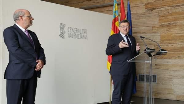 """Puig diu que la Comunitat """"avança pel camí correcte"""" per a reduir l'atur"""
