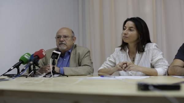 Marta Gutiérrez y Luis de Haro Rossi, de Vamos Granada