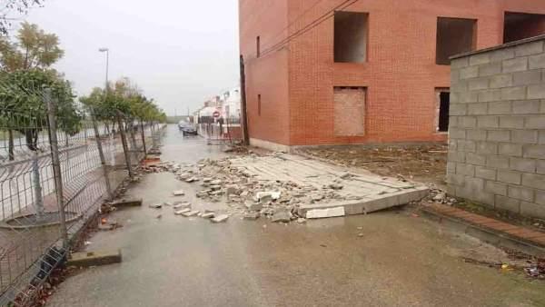 Derrumbe en Las Cabezas