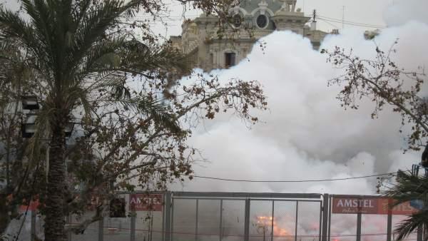 'Mascletà' De Pirotecnia Zaragozana De Este Viernes En Las Fallas De 2018