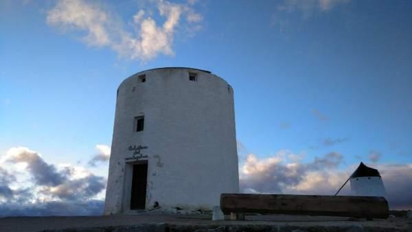 Molina de Consuegra dañado por el viento