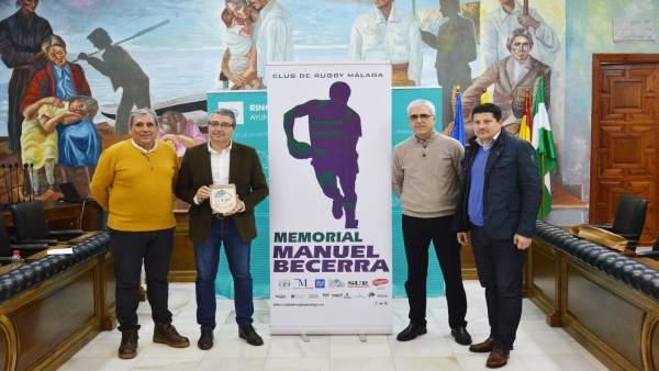 Presentación del torneo de rugby de veteranos en Rincón