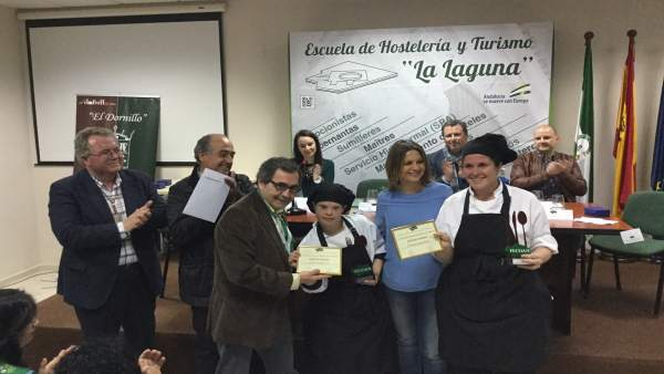 Entrega de premios del IV Concurso Andaluz de Jóvenes Cociner@s.