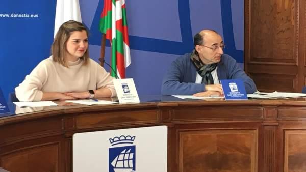 La concejala socialista Ane Oyarbide