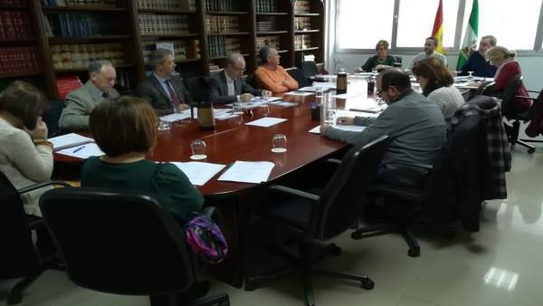 Reunión de la Comisión Provincial de Riesgos Laborales