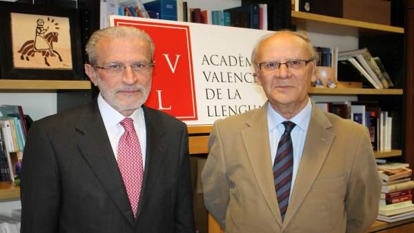"""L'AVL i la Universitat destaquen la seua """"complicitat"""" amb la presència de Morcillo en el ple de l'ens normatiu"""