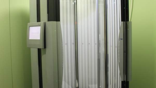 Cabina de fototerapia en el Hospital Josep Trueta