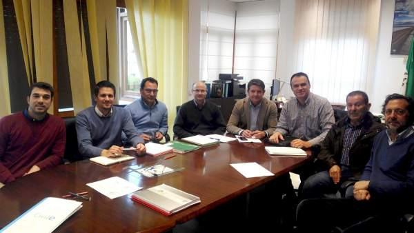 Reunión de Barroso con la cooperativa.