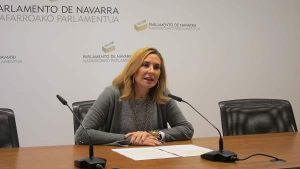Ana Beltrán, portavoz parlamentaria del PPN