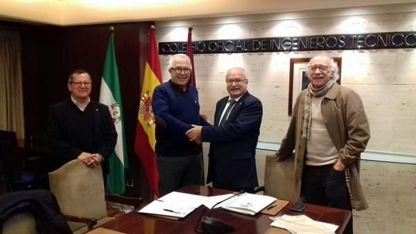 A UNIA firma un convenio con el Colegio Oficial de Peritos de Málaga