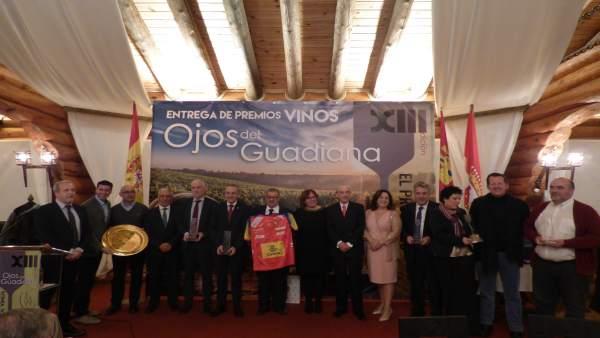 Premios Nacionales 'Vinos Ojos del Guadiana'