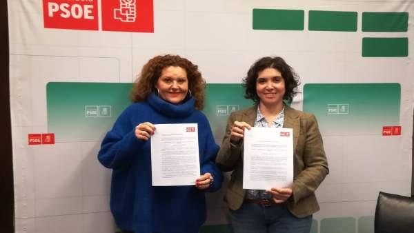 Araceli Maese y Noelia Ruiz, parlamentarias del PSOE por Cádiz