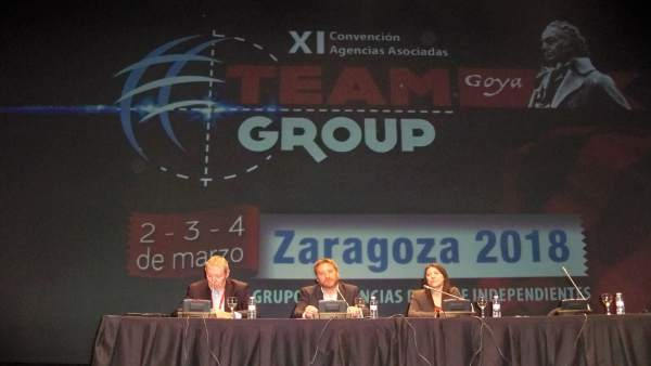 Convención Team Group en Zaragoza.