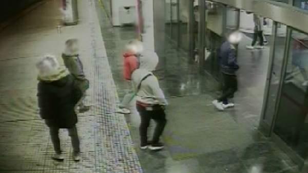 Lugar de una agresión en Mairena del Aljarafe (Sevilla)