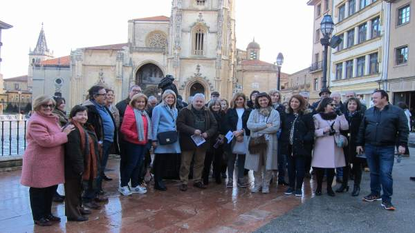 Ruta Centenarios De Covadonga En Oviedo