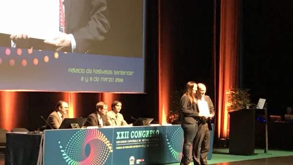 Entrega del Premio a la Mejor Comunicación 2018 de la SERV