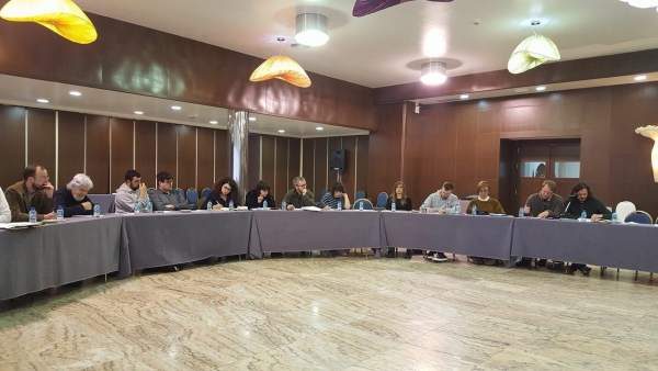 Reunión de la coordinadora de Anova