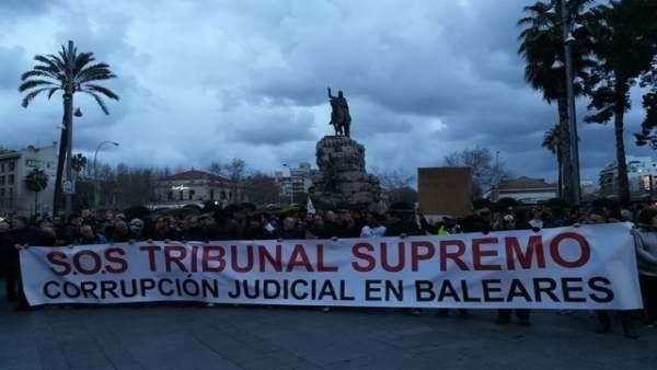 MANIFESTACIÓN CORRUPCIÓN JUDICIAL