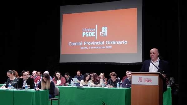 Comite provincial ordinario del PSOE Córdoba