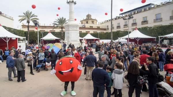Celebración del Día del Tomate en Almería capital
