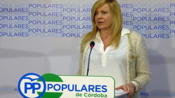 La diputada del PP-A Rosario Alarcón